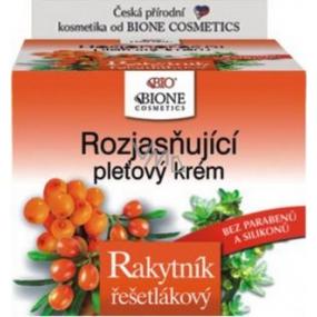 Bione Cosmetics Bio Rakytník řešetlákový rozjasňující pleťový krém 51 ml
