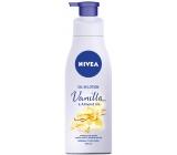 Nivea Vanilla & Almond Oil tělové mléko s olejem dávkovač 200 ml