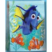 BSB Luxusní dárková papírová taška pro děti 32,4 x 26 x 12 cm Hledá se Dory DT L