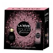 La Rive Touch of Woman parfémovaná voda 90 ml + deodorant sprej 150 ml, dárková sada