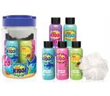 Baylis & Harding Kids Pěna do koupele 100 ml 2 kusy + 2 x mycí gel 100 ml + 1 x sprchový krém 100 ml + mycí houbička, kosmetická sada