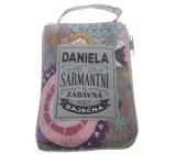 Albi Skládací taška na zip do kabelky se jménem Daniela 42 x 41 x 11 cm
