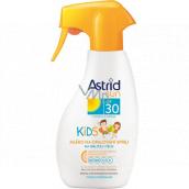 Astrid Sun Kids OF30 mléko na opalování sprej 200 ml