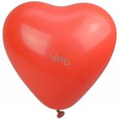 Party Time Nafukovací balónky, srdce 28 cm 1 kus