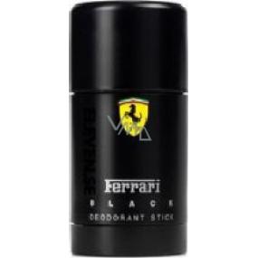 Ferrari Black deodorant stick pro muže 75 ml