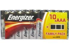 Energizer Family Pack baterie AAA LR03 1,5V 10 kusů