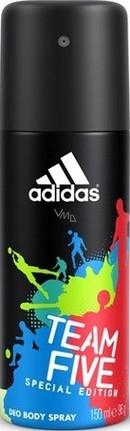 Adidas Team Five deodorant sprej pro muže 150 ml