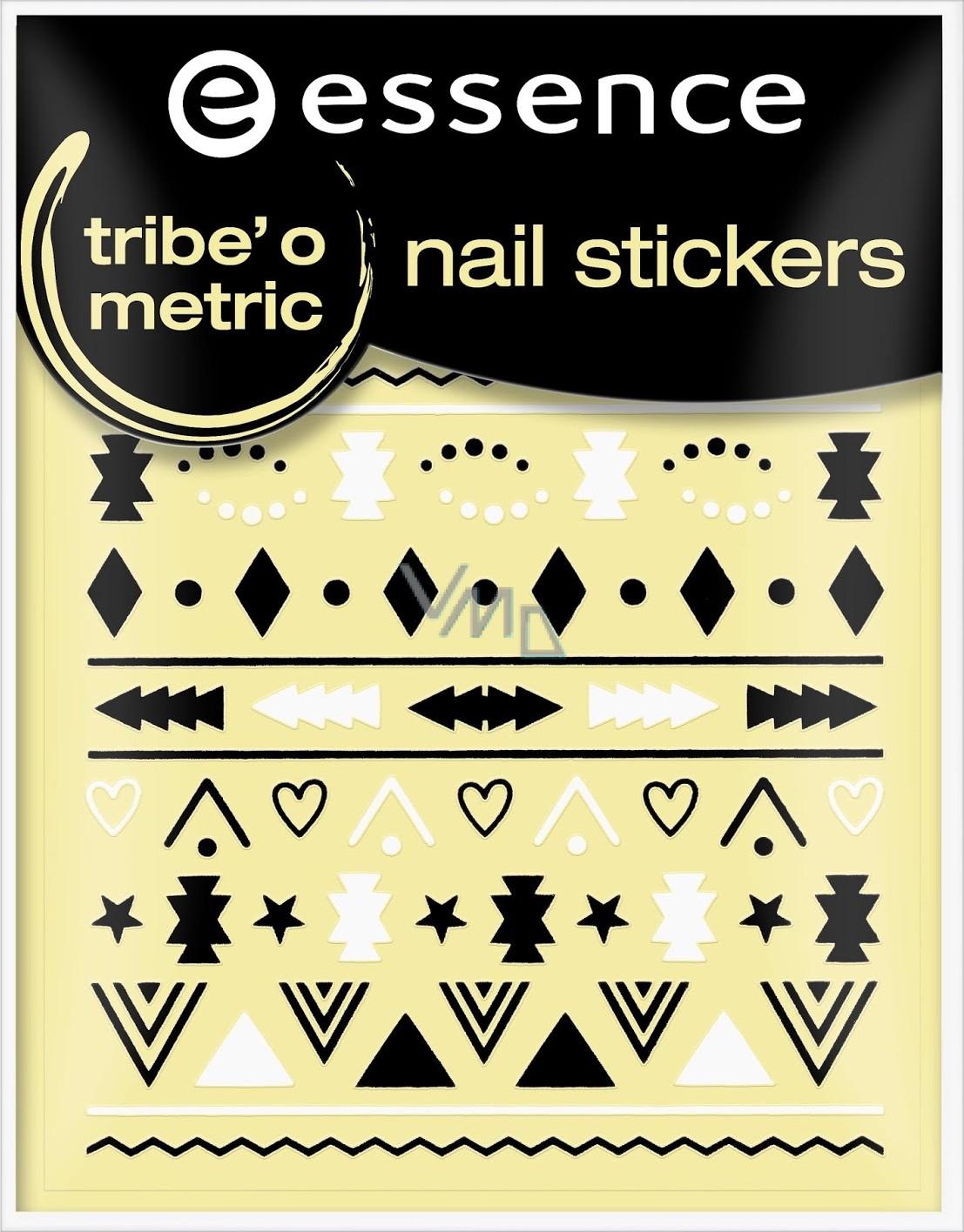 Essence Nail Art Nlepky Na Nehty 18 Trib O Metric 1 Ark Vmd