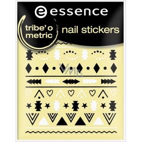 Essence Nail Art nálepky na nehty 18 Trib O Metric 1 aršík