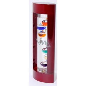 Albi Galileo Pokojový teploměr vínový, 8,8 × 5,2 × 23,3 cm