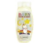 Bohemia Baby kosmetika pro nejmenší 2v1 vlasový a tělový šampon 250 ml