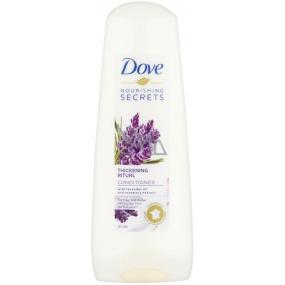 Dove Nourishing Secrets Objemový Rituál Levandule a Rozmarýn kondicionér na vlasy 200 ml