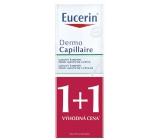 Eucerin DermoCapillaire gelový šampon proti mastným lupům 2 x 250 ml, duopack