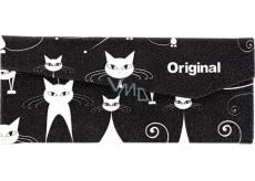 Albi Original Skládací pouzdro na brýle Kočky 16 x 7 cm