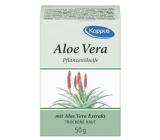 Kappus Aloe Vera toaletní mýdlo z čistých přírodních olejů 50 g