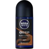 Nivea Men Deep Black Carbon Espresso kuličkový antiperspirant deodorant roll-on 50 ml