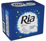 Ria Ultra Night noční hygienické vložky s křidélky 8 kusů