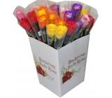 NeoCos Mýdlová růže v celofánu mix 4 g 1 kus