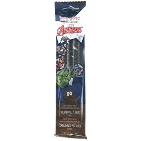 Marvel Avengers MilkiMix mléčné brčko směs pro přípravu nápoje s příchutí čokolády 5 brček po 30 g