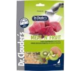 Dr. Clauders Meat Fruit Kuřecí maso a kiwi sušené maso pro psy 80 g