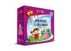 Albi Kvído Zdravouš a Mlsanda kooperativní hra doporučený věk 5+
