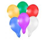 Rappa Balónek nafukovací metalický 27 cm 6 kusů