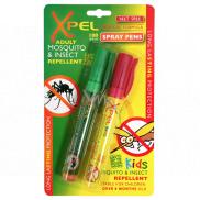 Xpel Kids repelent v peru proti komárům a hmyzu pro děti 2 x 10 ml