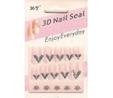 Nail Seal 3D nálepky na nehty 152A 1 aršík