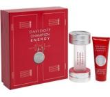 Davidoff Champion Energy toaletní voda 50 ml + sprchový gel 75 ml, dárková sada