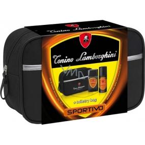 Tonino Lamborghini Sportivo toaletní voda 100 ml + deodorant sprej 150 ml, dárková sada