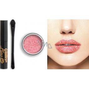 Glitter Lips dlouhotrvající lesk na rty se třpytkami Diamond In The Buff 3,5 ml