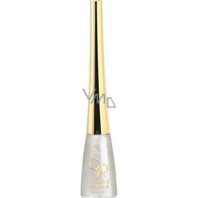 Golden Rose Extreme Sparkle Eyeliner oční linky 101 stříbrné 5,5 ml