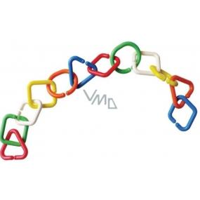 Baby Farlin Spojovací řetěz barevný 55 cm
