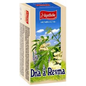Apotheke Dna a revma čaj 20 x 1,5 g