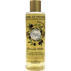 Jeanne en Provence Divine Olive sprchový olej pro ženy 250 ml