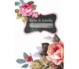 Ditipo Relax do kabelky Růže zápisník 15 x 10,5 cm