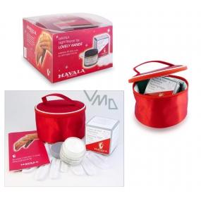 Mavala Lovely Repairing Night Cream noční krém na ruce 75 ml + rukavice + etue, kosmetická sada