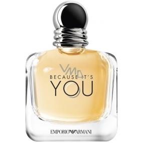 Giorgio Armani Emporio Because Its You parfémovaná voda pro ženy 100 ml Tester