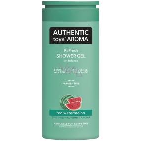Authentic Toya Aroma Red Watermelon aromatický sprchový gel 400 ml