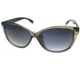 Nae New Age Sluneční brýle šedé černé stranice A-Z Chic 6100