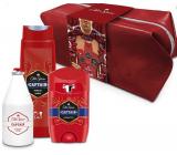 Old Spice Captain Travel antiperspirant deodorant stick 50 ml + 2v1 sprchový gel na tělo a vlasy 250 ml + voda po holení 100 ml + etue, kosmetická sada pro muže