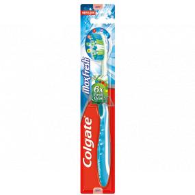Colgate Max Fresh Soft měkký zubní kartáček 1 kus
