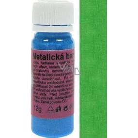 Art e Miss Univerzální akrylátová vodou ředitelná barva 33 metalická zelená 12 g