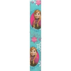 Nekupto Vánoční balicí papír světle modrý Elsa 2 x 0,7 m