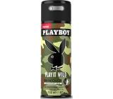 Playboy Play It Wild for Him SkinTouch deodorant sprej pro muže 150 ml
