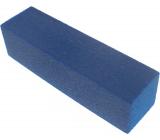 Pilník na nehty 4 stranný hranol modrý 9,5 x 2,5 x 2,5 cm