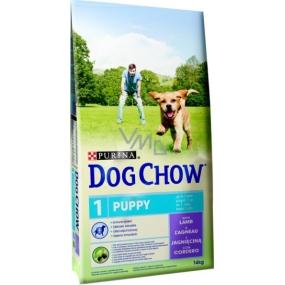 Purina Dog Chow Puppy Jehně kompletní krmivo pro štěňata 11+3 kg