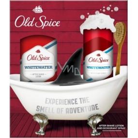 Old Spice White Water voda po holení pro muže 100 ml + deodorant sprej 125 ml, kosmetická sada