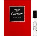Cartier Pasha Edition Noire toaletní voda pro muže 1,5 ml s rozprašovačem, Vialka