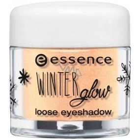 Essence Winter Glow oční stíny 03 Gleaming In The Winter Sun 1,5 g